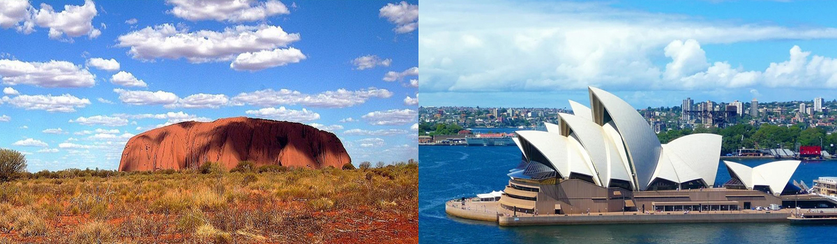 Australia holiday tour packages from Singapore