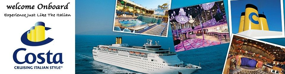 Costa Cruises Holiday Packages from Singapore
