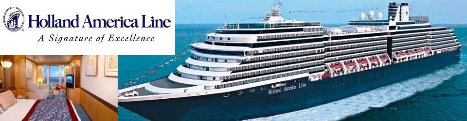 Holland America Line Cruise Holiday Packages from Singapore
