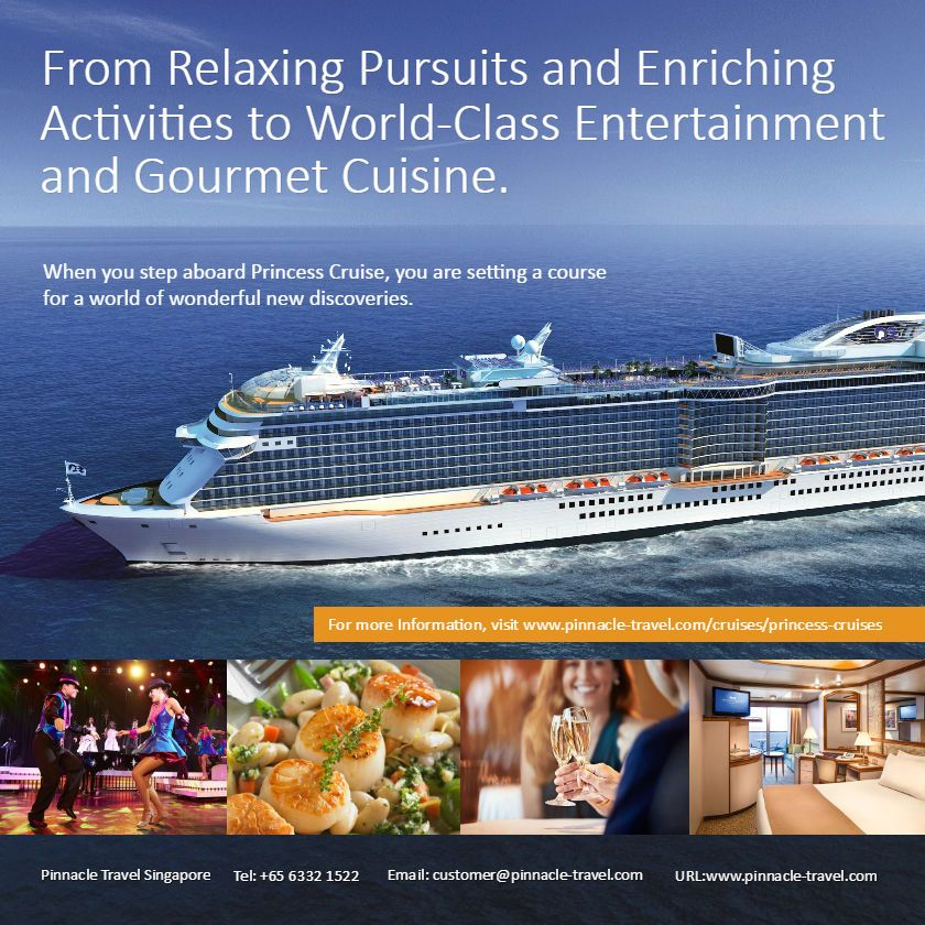 princess cruise vacation overseas packages from singapore