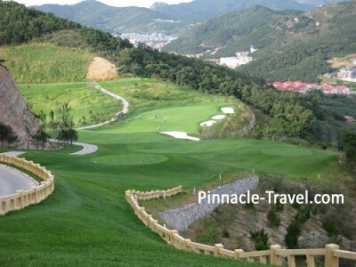 5 Days 4 Nights 3 rounds Dalian golf Package promotion from Singapore day 3