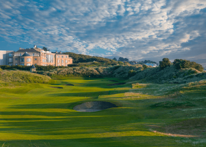 6 Days 5 Nights 4 Rounds Dublin + Newcastle Golf  (Irish Package)