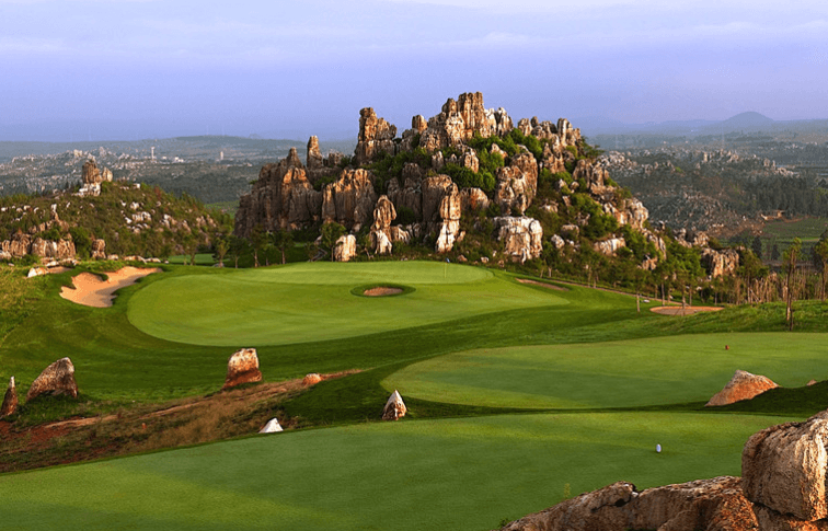 Stone Forest International Golf and Country Club  (Kunming)