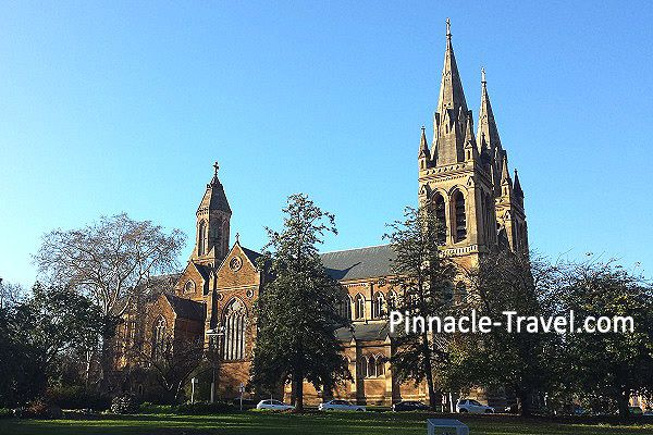 Australia Adelaide | St Peter Cathedral | 4 Days 3 Nights Adelaide City + 1 Flexi Tour Australia Holiday Package from Singapore