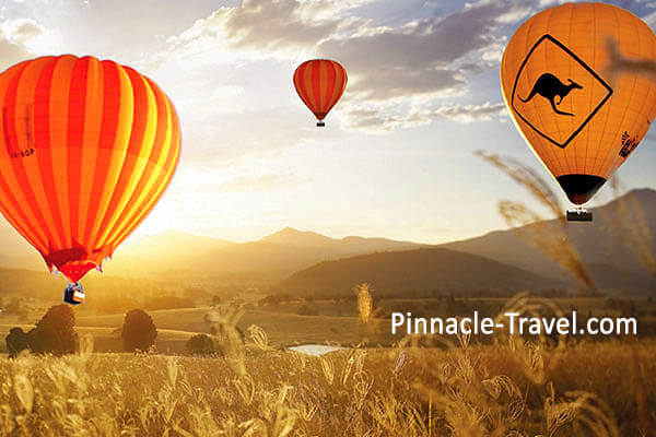 Australia Gold Coast | Hot Air Balloon | 4 Days 3 Nights Gold Coast Adventure, Hot Air Ballooning, Sky Diving + Helicopter Tour Australia holiday package from Singapore