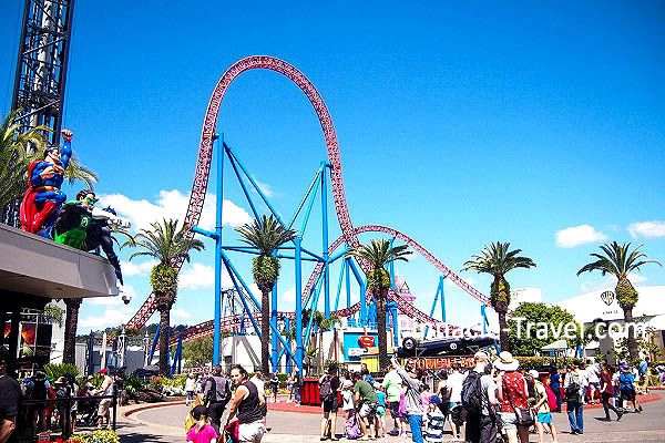 Australia Gold Coast | Movie World | 4 Days 3 Nights Gold Coast Best of Both Worlds Australia holiday package from Singapore