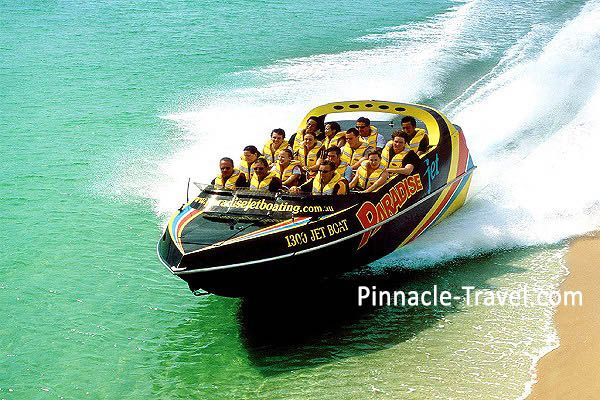 Australia Gold Coast | Paradise Jet Boating | 6 Days 5 Nights Gold Coast Best Discovery Tour Australia holiday package from Singapore