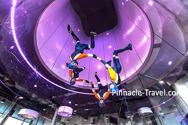 Australia Gold Coast | Indoor Sky Diving | 4 Days 3 Nights Gold Coast Adventure, Hot Air Ballooning, Sky Diving + Helicopter Tour Australia holiday package from Singapore