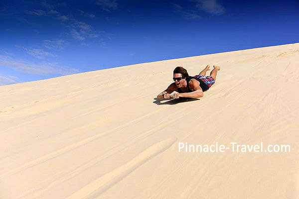 Australia Gold Coast | Tangalooma Desert | 6 Days 5 Nights Gold Coast 2 Worlds, Tangalooma Dolphin + Desert Safari Australia holiday package from Singapore