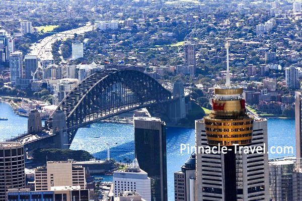 Australia Sydney | Sydney Tower Eye | 4 Days 3 Nights Sydney 3 Merlin Attractions Choices + Free & Easy Australia holiday package from Singapore