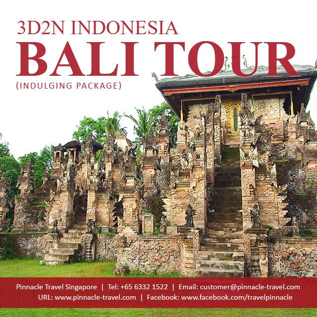 3 Days 2 Nights Bali Indonesia Holiday Package Tour From Singapore Indulging Package