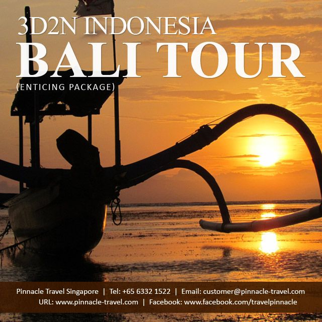 3 Days 2 Nights Bali Indonesia Holiday Package Tour From Singapore Enticing Package