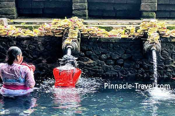 Tirta Empul Temple Indonesia holiday tour package from Singapore