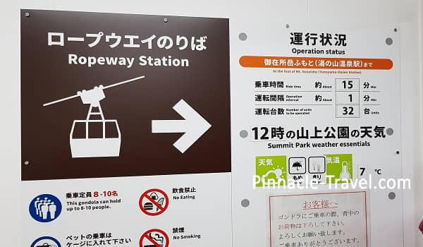 Ropeway Station In Mie Tour Japan