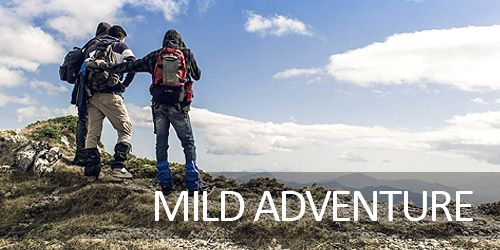 Mild Adventure Holiday Packages