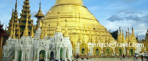 Myanmar Yangon, Golden Rock + Bago