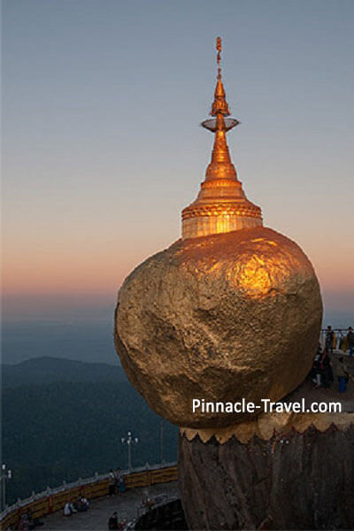 Golden Rock | 5D 4N Yangon, Golden Rock, Bago + Mandalay Tour (Bright Package) | Myanmar Holiday Package