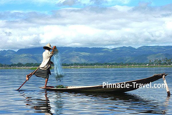 Inle Lake One-leg Rower | 8D 7N Yangon, Bagan, Salay, Mount Popa, Mandalay, Inle Lake + Indein Tour  (Dazzle Package)