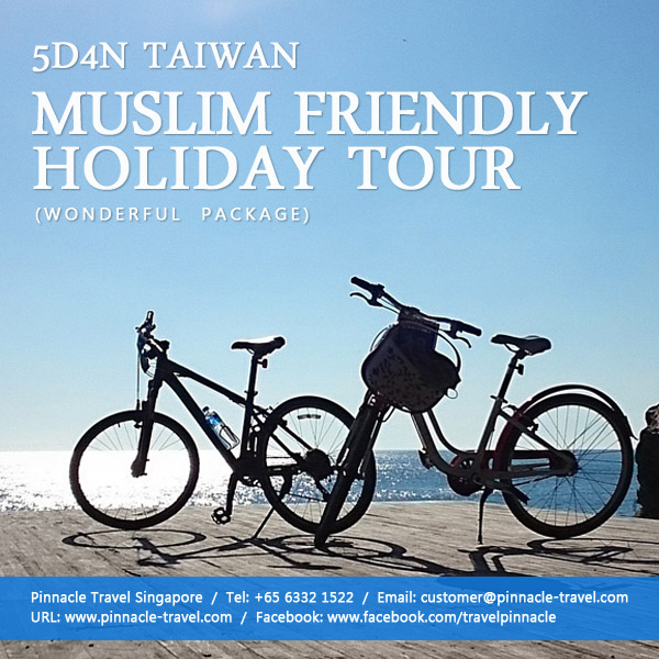 5 days 4 nights taiwan muslim friendly tour taiwan holiday package from singapore