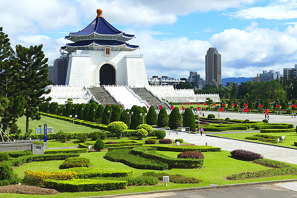 National Chiang Kai-Shek Memorial Hall  7 Days 6 Nights Taipei, Hsinchu, Taichung, Nantou + Yilan Taiwan Holiday Tour From Singapore (Grateful Package)