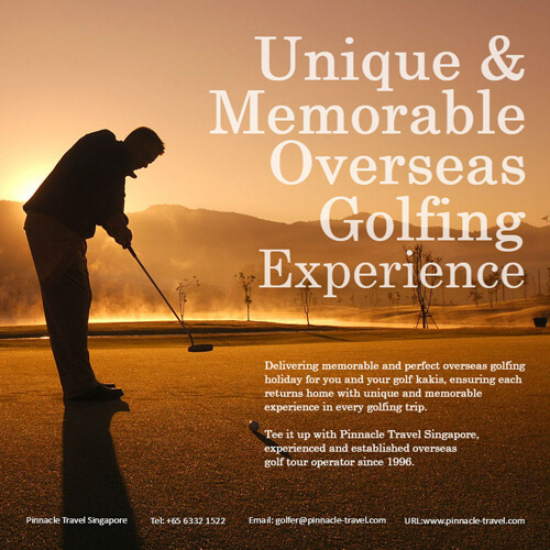 golf overseas holiday travel tour package promotion deal singapore